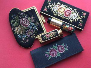 Антикварные сокровища с вышивкой петит поинт! | Ярмарка Мастеров - ручная работа, handmade