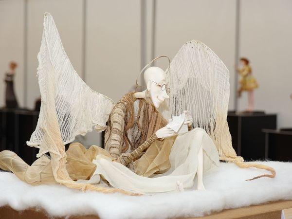 Волшебные создания: ангелы в работах мастеров-кукольников   Ярмарка Мастеров - ручная работа, handmade
