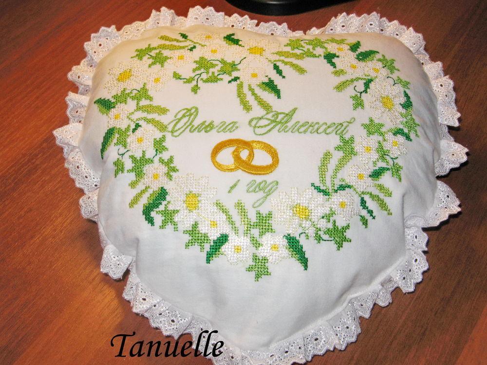первая годовщина, платок на свадьбу, эксклюзивная вышивка