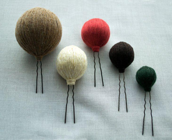 lora radloff, шпильки для волос