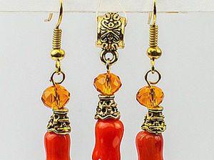 Assembling an Original Jewelry Set. Livemaster - handmade