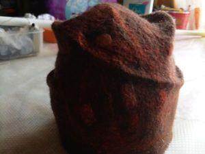О валяных шапочках. Ярмарка Мастеров - ручная работа, handmade.