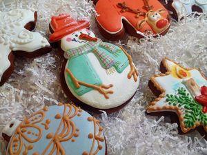 Готовимся к Новому году заранее. Прием заказов на новогодние пряники.. Ярмарка Мастеров - ручная работа, handmade.