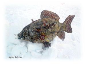 Новая сумка рыба  «Карасик». Ярмарка Мастеров - ручная работа, handmade.