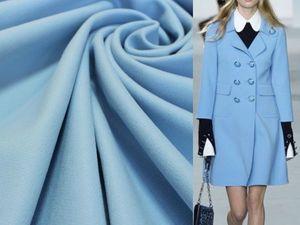Сшейте себе пальто из голубого кашемира Michael Kors. Ярмарка Мастеров - ручная работа, handmade.