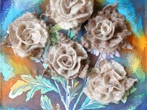 Пушистые розы на Байкале. Ярмарка Мастеров - ручная работа, handmade.