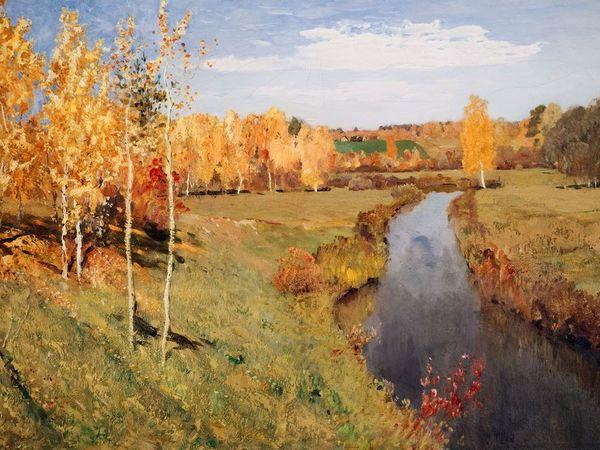 Осень в картинах русских художников/ осеннее вдохновение | Ярмарка Мастеров - ручная работа, handmade
