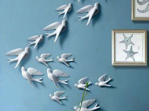Родовое гнездо: образы птиц в интерьере дома. Ярмарка Мастеров - ручная работа, handmade.