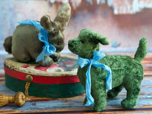 Аукцион с НУЛЯ!!! Ретро собачка | Ярмарка Мастеров - ручная работа, handmade