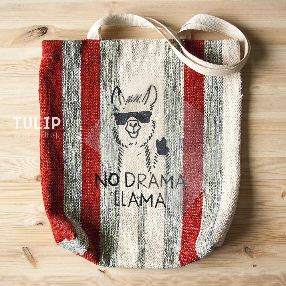 Шьем сумку-шоппер из домотканого коврика без выкройки, фото № 14