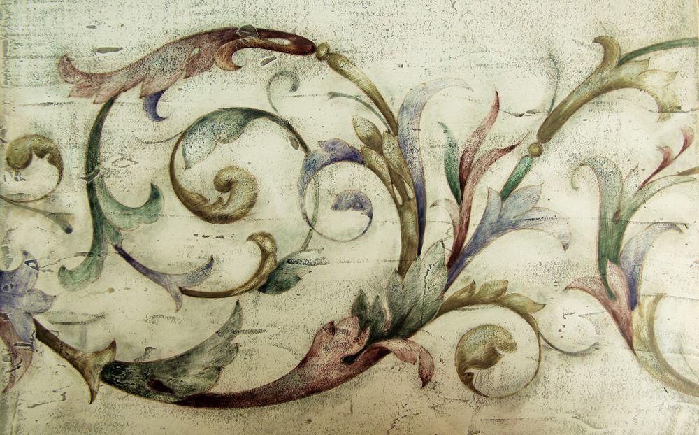 фреска, мк по живописи, марина крылова