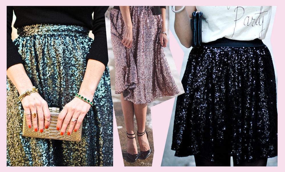 мода, одежда с пайетками