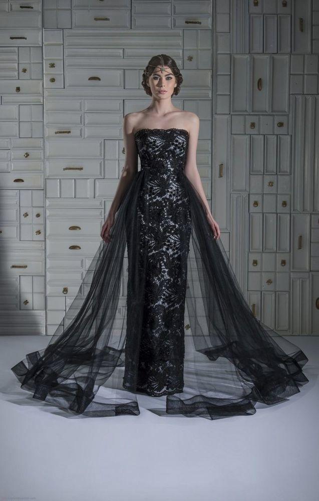 свадебные платья черного цвета фото этом случае