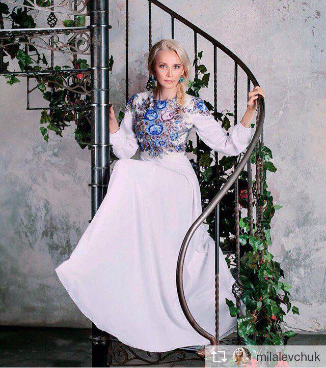 платье белое, распродажа
