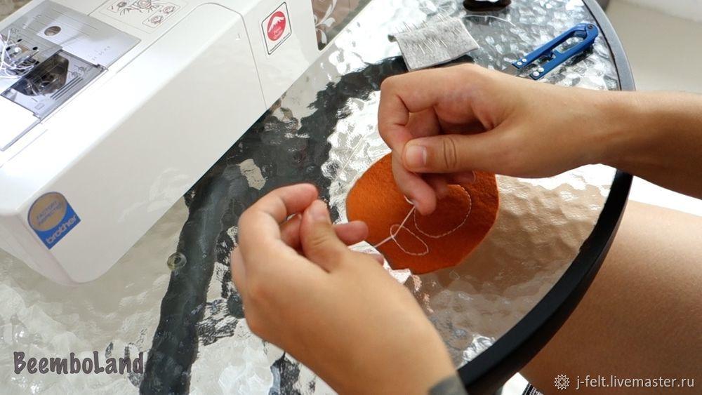 как шить панду