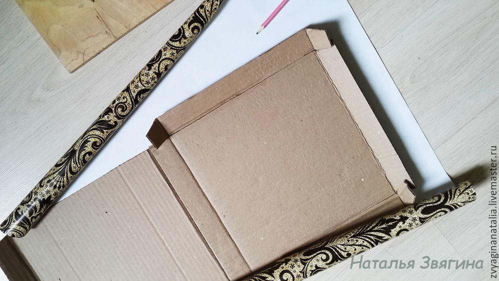 коробка для тарелки