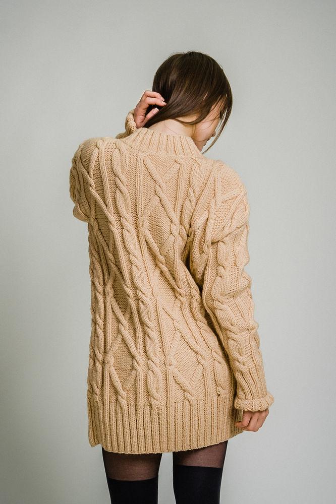 вязаное платье, подарок девушке, заказать платье