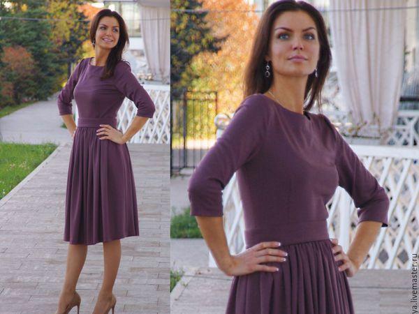 Аукцион на трикотажное платье!! Старт 1500 рублей !!! | Ярмарка Мастеров - ручная работа, handmade