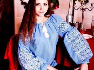 АНОНС: Цветные вышитые блузы богема славянский стиль   Ярмарка Мастеров - ручная работа, handmade