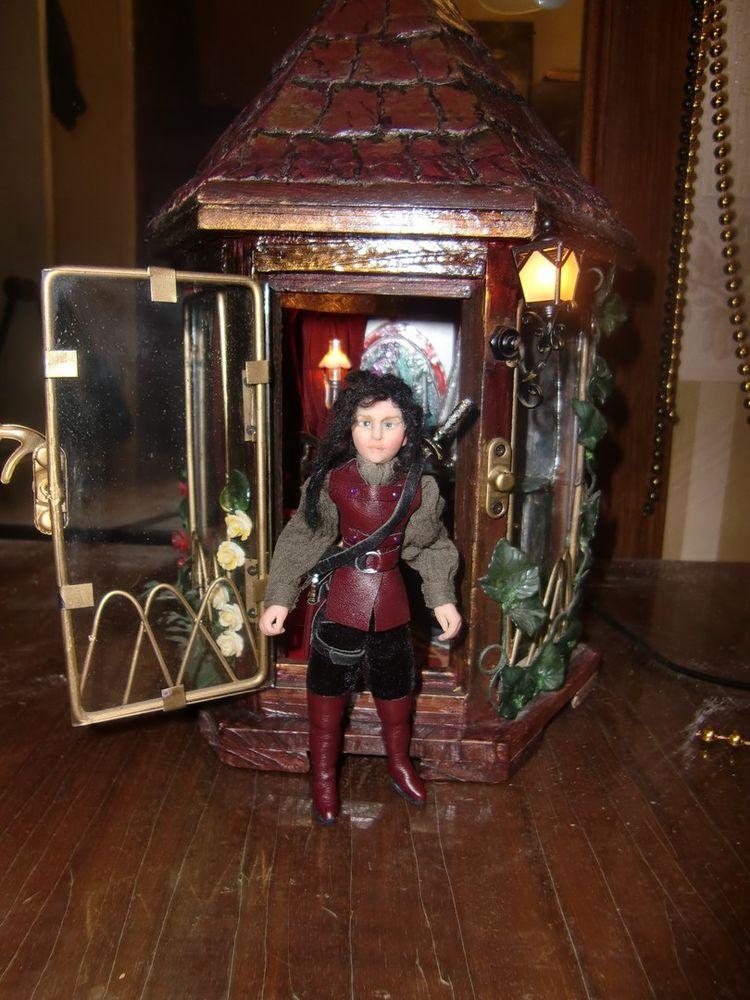 миниатюра, авторская кукла