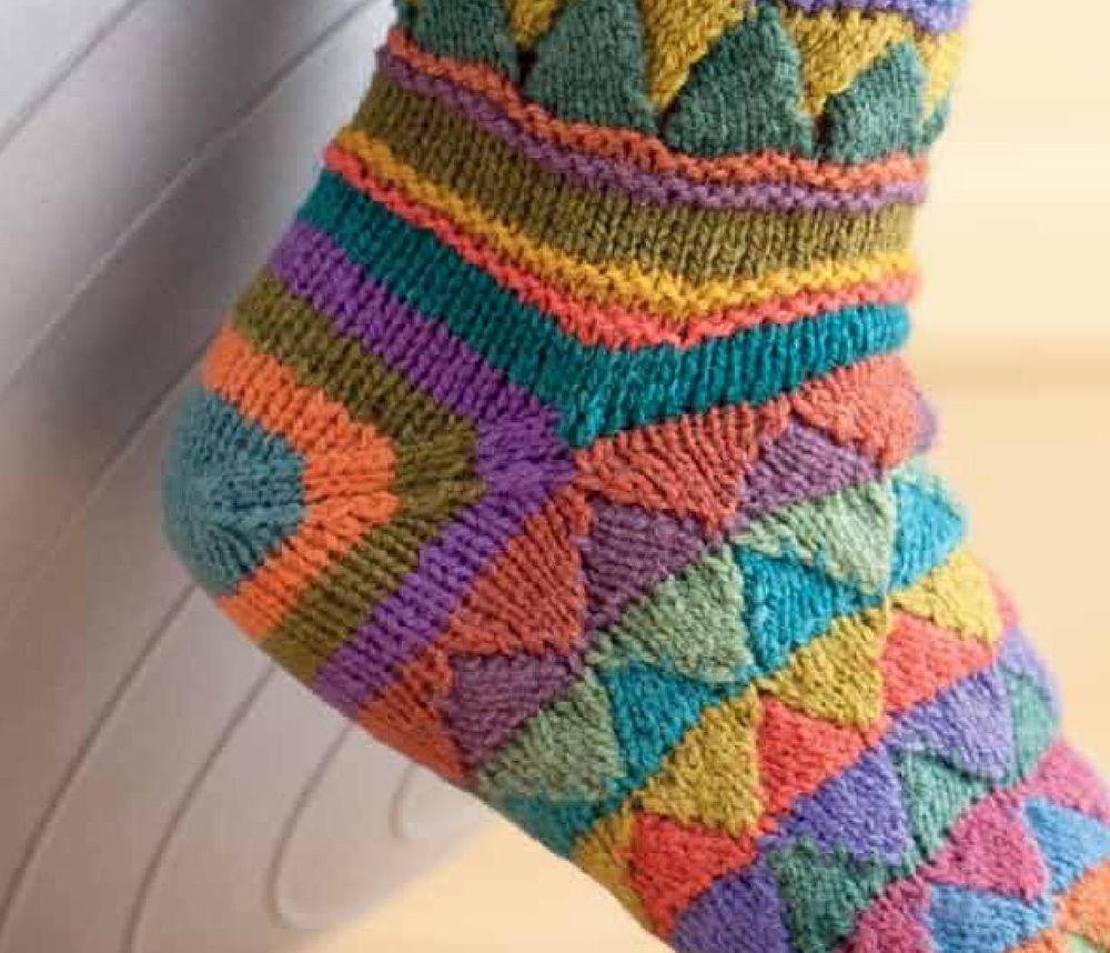 8 способов вязания пятки носка ярмарка мастеров