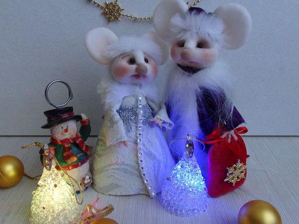 Дашенька и Валера Новогодние | Ярмарка Мастеров - ручная работа, handmade