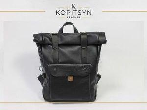Самая популярная модель рюкзака в моей мастерской. Ярмарка Мастеров - ручная работа, handmade.