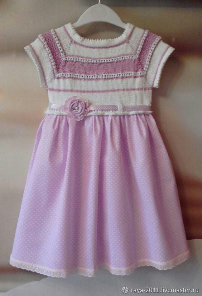 скидка, нарядное платье, вязание на заказ, крестильное платье, для новорожденной