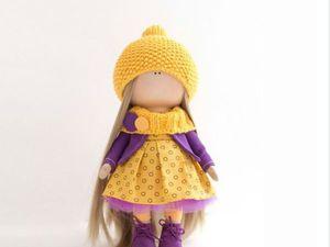 Марафон по шитью куклы с призами! | Ярмарка Мастеров - ручная работа, handmade