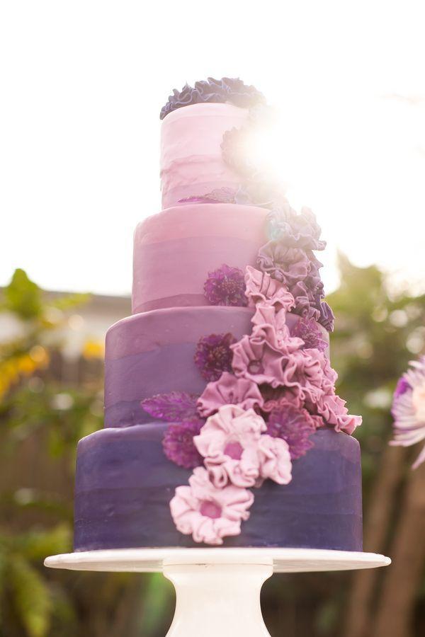 Purple Ombre Wedding Ideas