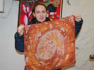 Мастер-класс по Батику  СРЕДА 15 февраля с 18-30. Холодный батик.   Ярмарка Мастеров - ручная работа, handmade
