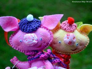 Мои свиньи. Ярмарка Мастеров - ручная работа, handmade.
