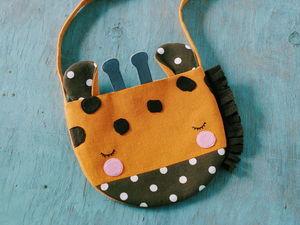 Новый мастер-класс: сумочка Жираф!. Ярмарка Мастеров - ручная работа, handmade.
