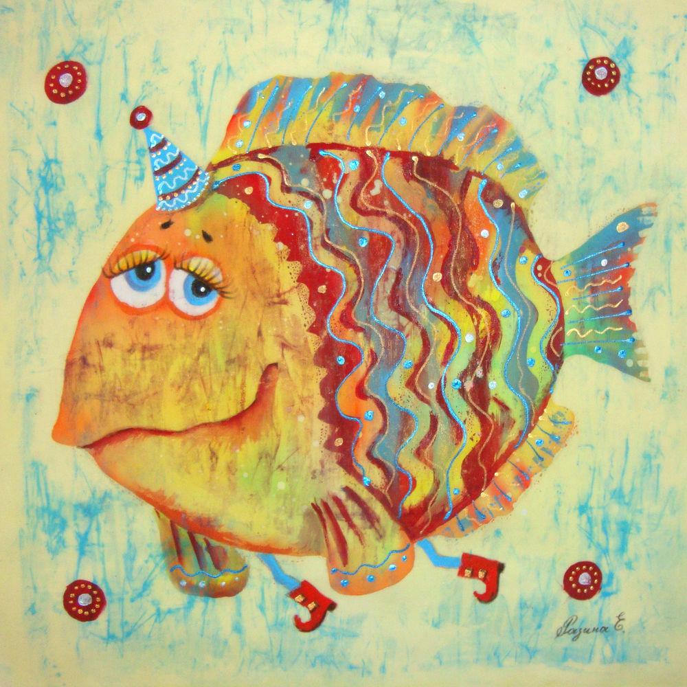 рыба, батик, панно, юмор, театр, цирк, гороскоп
