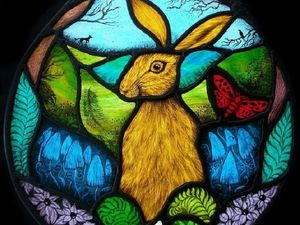Stained Glass Splendor from Hare Moon Stained Glass. Livemaster - handmade