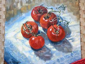 Новинка магазина — Любовь к помидорам!. Ярмарка Мастеров - ручная работа, handmade.