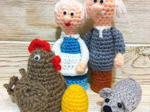 Пальчиковые сказки для развития малышей | Ярмарка Мастеров - ручная работа, handmade
