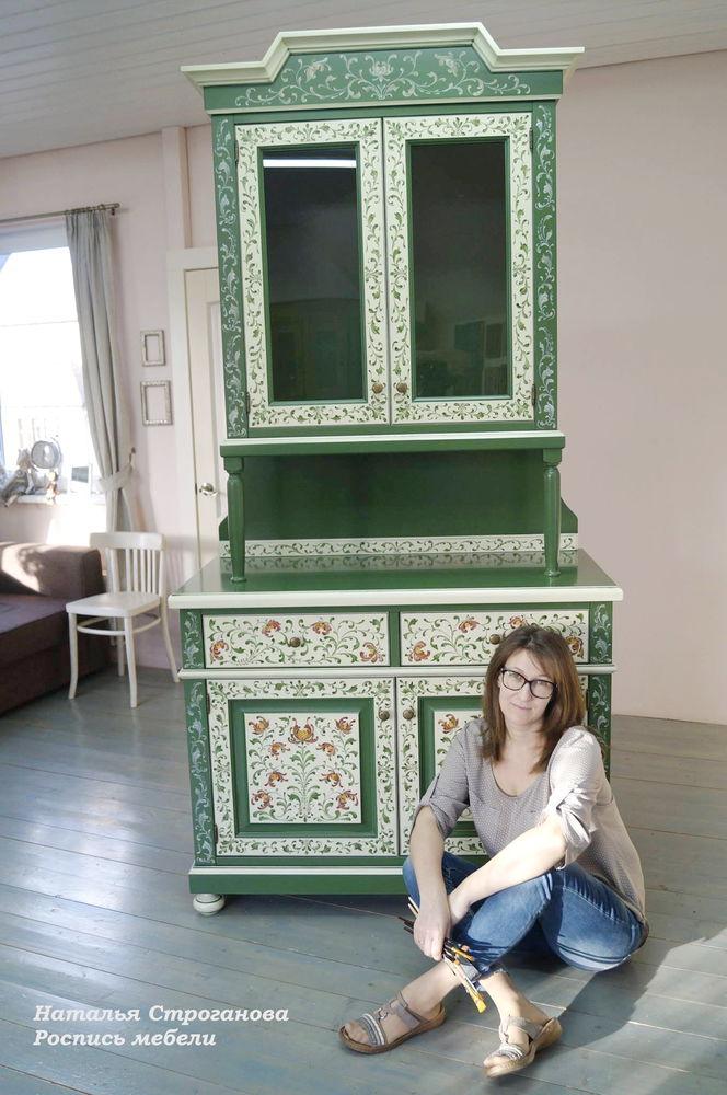 курсы роспись мебели, декор мебели