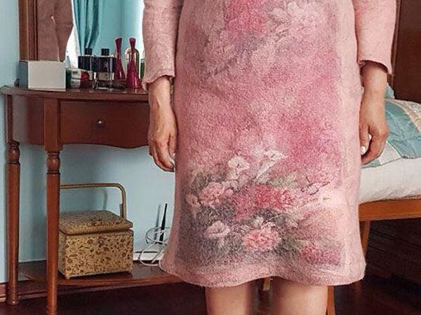 Отчет о б индивидуальном мастер-классе по валянию платья. | Ярмарка Мастеров - ручная работа, handmade