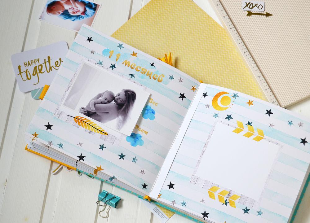 Купить фотоальбом для новорожденного в интернет магазине