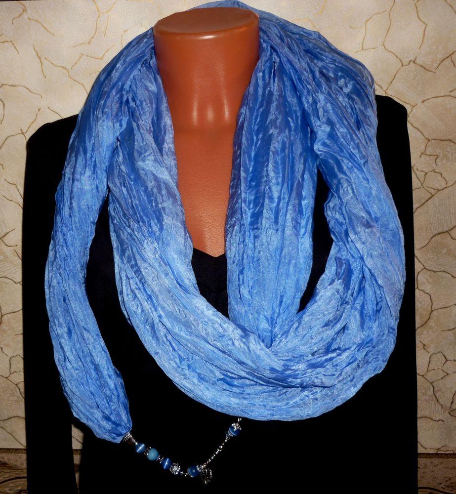 шарф колье