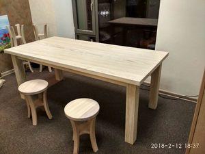 Представляем новинку - стол из массива ясеня!. Ярмарка Мастеров - ручная работа, handmade.