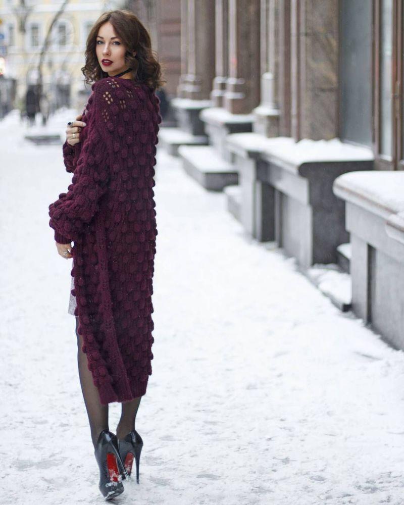 Вязаные кардиганы и пальто — только плюсы и никаких минусов