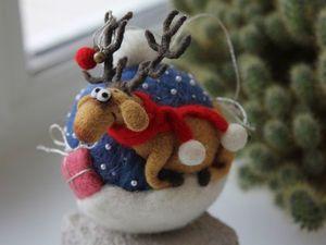Новый новогодний шарик в магазине!!!. Ярмарка Мастеров - ручная работа, handmade.
