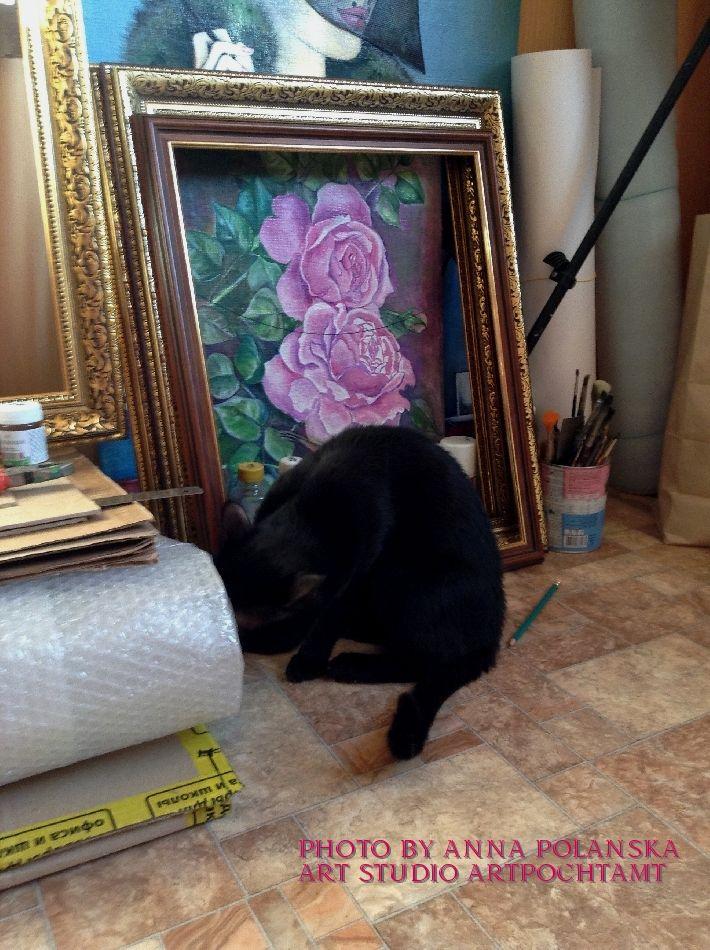 художник полянская анна, картины недорого купить, художник картина