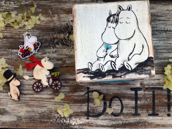 Правила жизни Муми-троллей | Ярмарка Мастеров - ручная работа, handmade