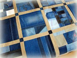 Лофт стиль в джинсе. Ярмарка Мастеров - ручная работа, handmade.
