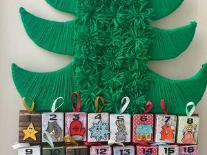 DIY Advent Calendar for Kids. Livemaster - handmade
