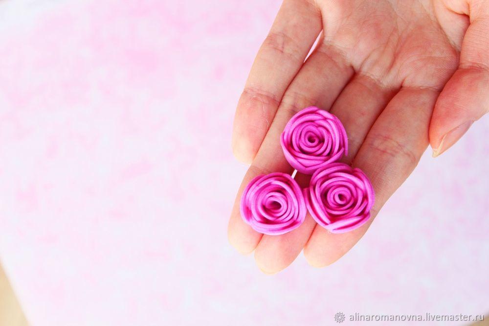 зайчик из роз