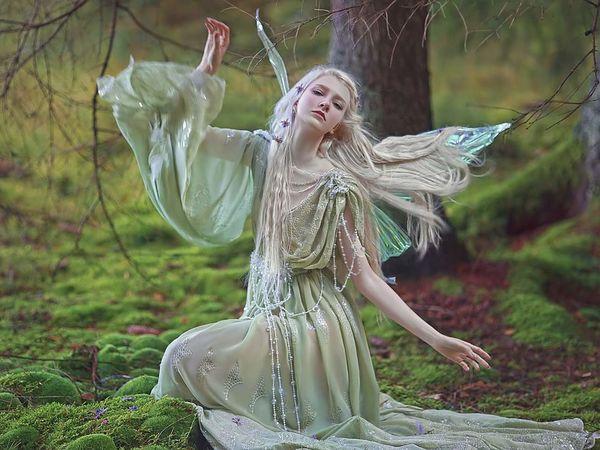 Завораживающий мир лесных фей от Agnieszka Lorek | Ярмарка Мастеров - ручная работа, handmade